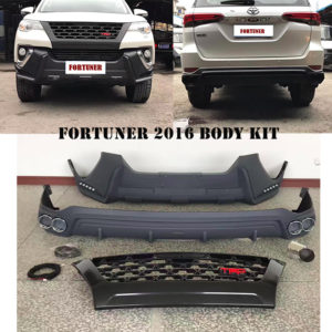 fortuner 2016 body kit