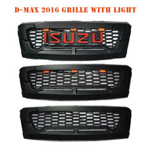 D-MAX 2016 GRILLE WITH LIGHT
